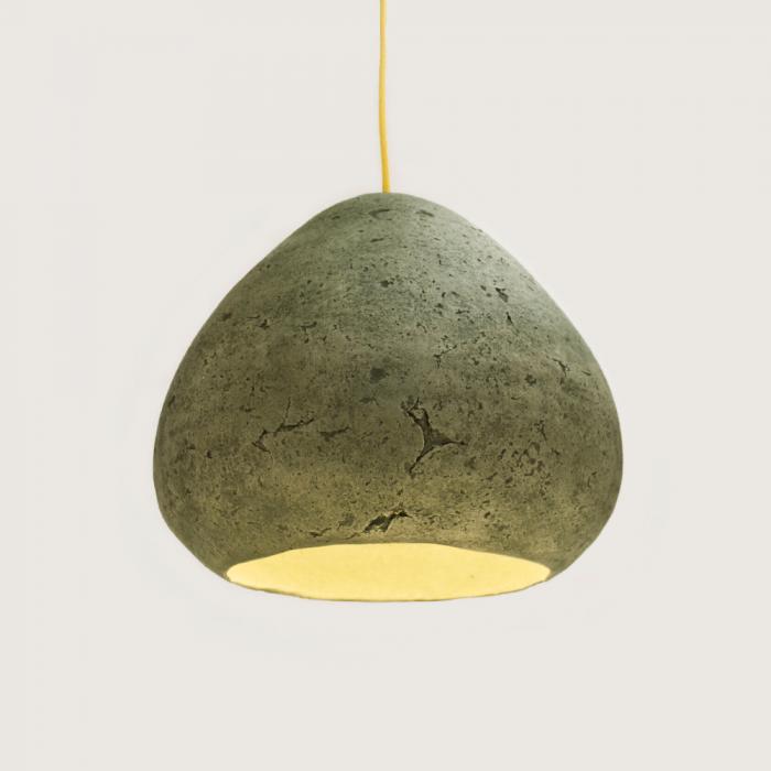 eco-friendly-vagone-green-paper-pendant-lamp-morphe-II-siena-sustainable-lamps-ekohunters-crea-re-inspiring-changes