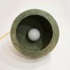 lampara-ecologica-techo-papel-papel-verde-bosque-morphe-II-lamparas-ecologicas-ekohunters-crea-re