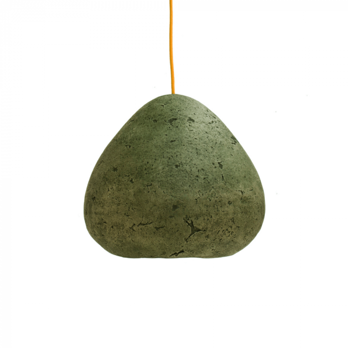 lampara-ecologica-techo-papel-papel-verde-veronese-morphe-II-lamparas-ecologicas-ekohunters-crea-re