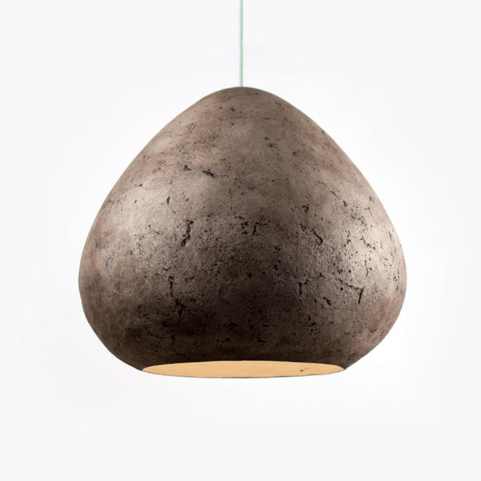 lampara-techo-sostenible-papel-negro-ambar-morphe-gigante-lamparas-ecologicas-ekohunters-crea-re