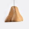 lampara-techo-marron-claro-papel-sensi-III-lamparas-ecologicas-ekohunters-crea-re