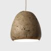 lampara-techo-sostenible-papel-verde-ambar-morphe-loft-mini-lamparas-ecologicas-ekohunters-crea-re