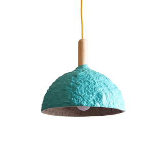 eco-friendly-bluegreen-paper-pendant-lamp-bell-sustainable-lamps-ekohunters-crea-re