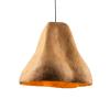 lampara-techo-sostenible-marron-claro-papel-sensi-III-lamparas-ecologicas-ekohunters-crea-re
