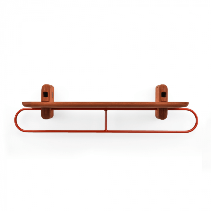 balda-madera-sostenible-roja-colgador-totem-utility-600-accesorios-decoracion-sostenibles-ekohunters-fuzl