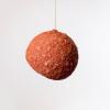 lampara-techo-papel-rojo-ocre-planet-mini-lamparas-ecologicas-ekohunters-crea-re