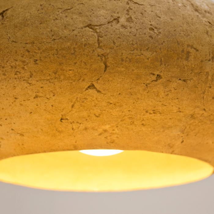lampara-techo-papel-marron-claro-morphe-I-lamparas-ecologicas-ekohunters-crea-re