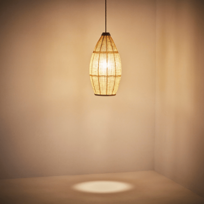 lampara-techo-madera-yute-ecologica-tepui-ekohunters-iluminacion-sostenible