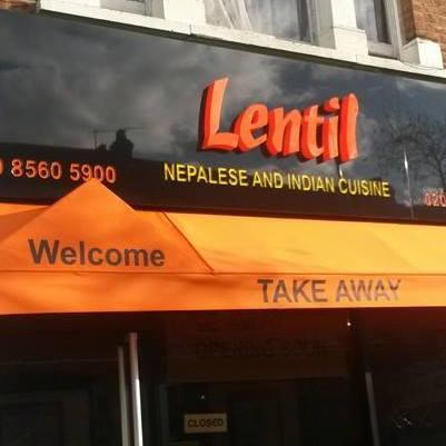 Logo de la société Lentil Nepalese, Indian Cuisine