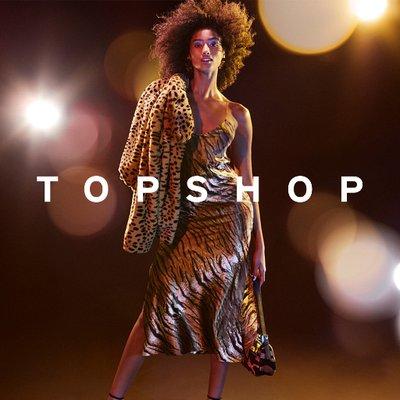 Logo de la société Topshop