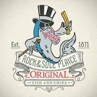 Logo de la société Rock and Sole Plaice