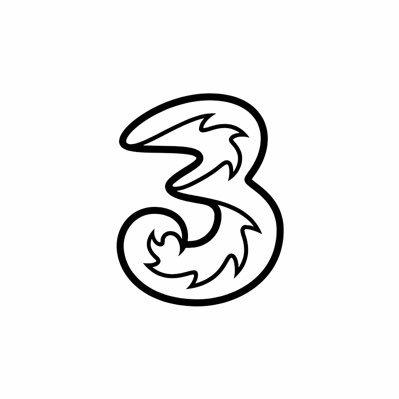 Logo de la société Three