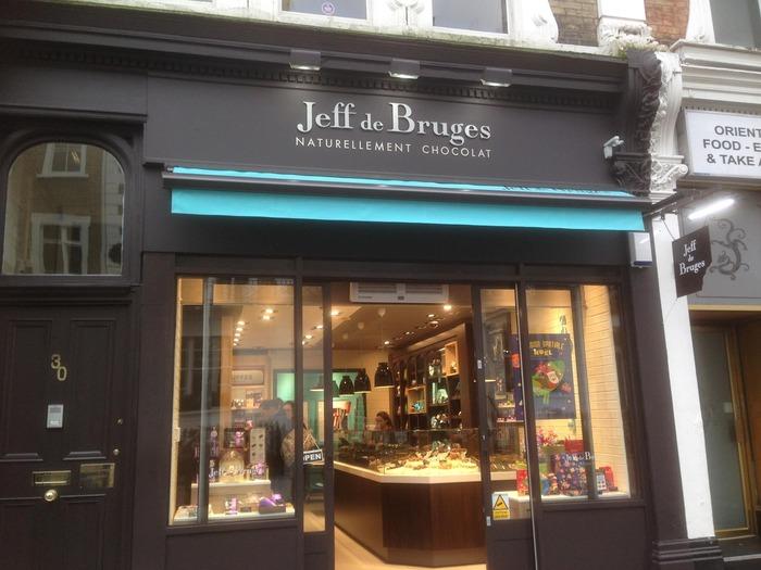 Logo de la société Jeff de Bruges