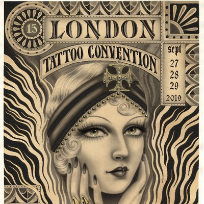 Logo de la société London Tattoo Convention