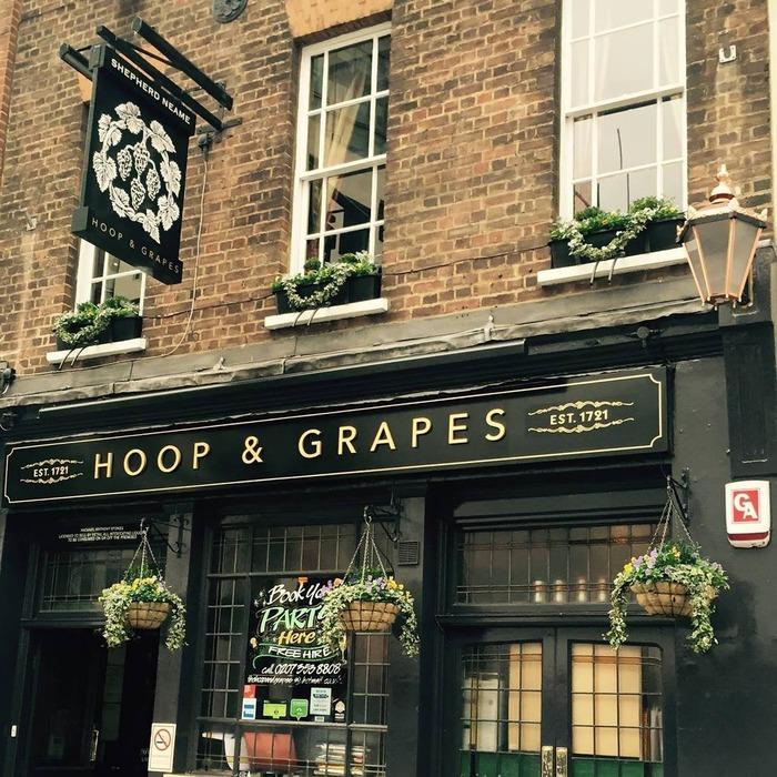 Logo de la société Hoop & Grapes