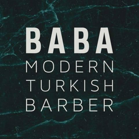 Logo de la société Baba Barbers