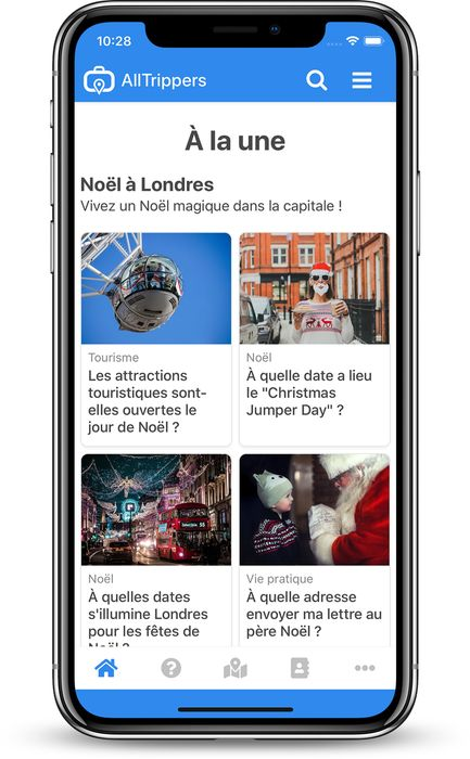 AllTrippers sur iPhone