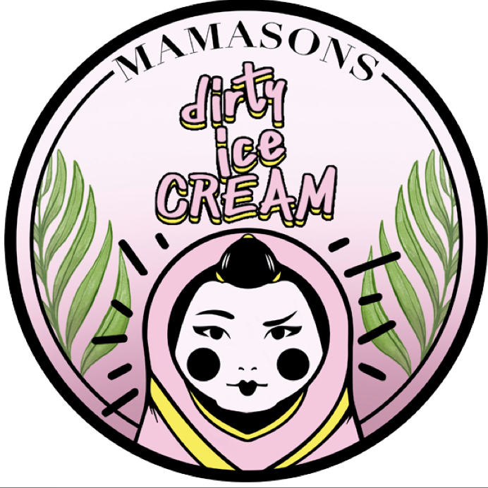 Logo de la société Mamasons Dirty Ice cream