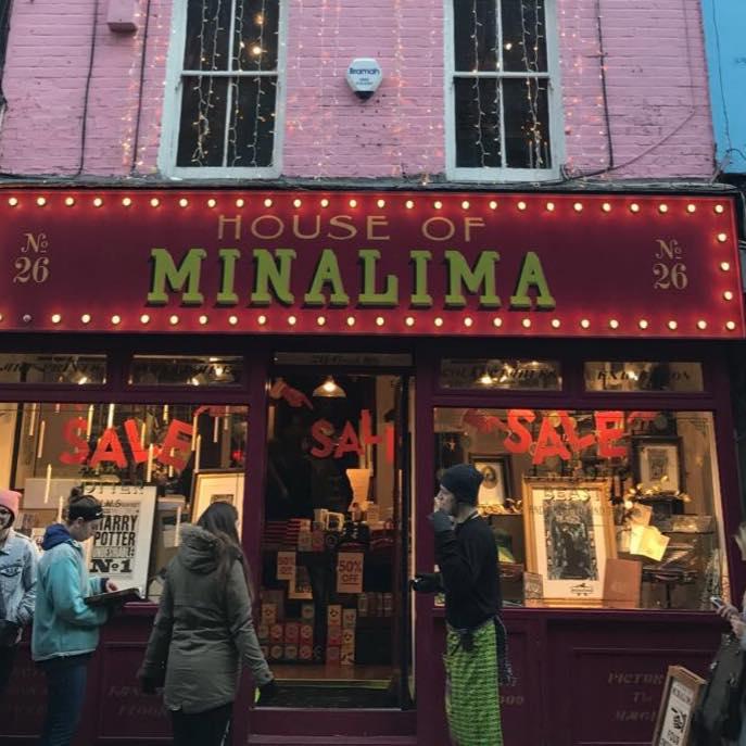 Logo de la société House of MinaLima