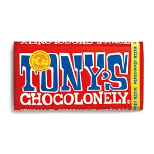 Logo de la société Tony's Chocolonely