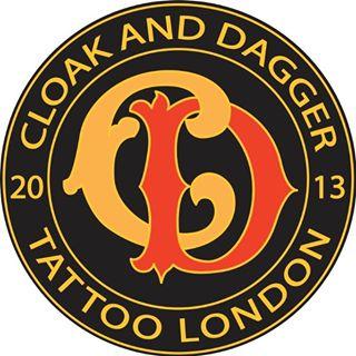 Logo de la société Cloak and Dagger Tattoo Parlour