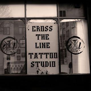 Logo de la société Cross The Line Tattoo Studio