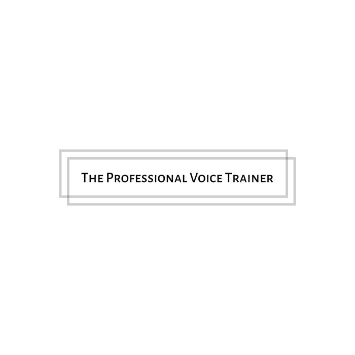 Logo de la société The Professional Voice Trainer