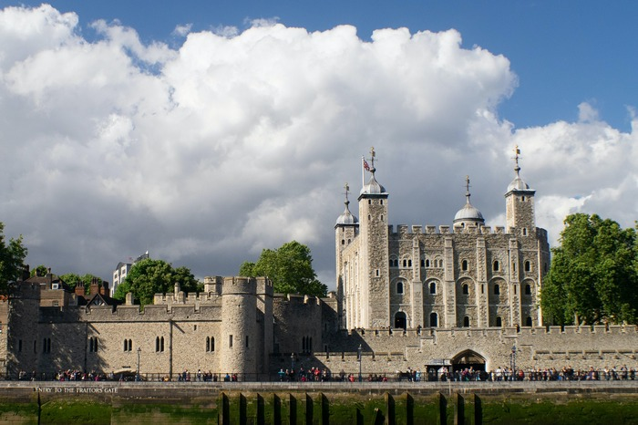 Vue sur la tour de Londres (Tower of London)