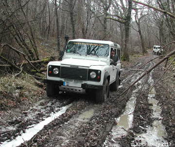 Land Rover Defender vs Mud