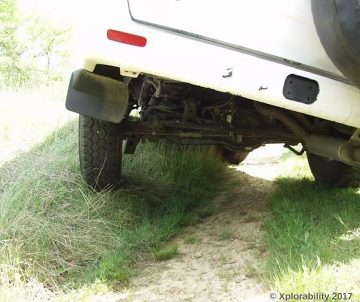 4WD Vehicle Limitation: Side Angle at Maximum Articulation Before Rollover