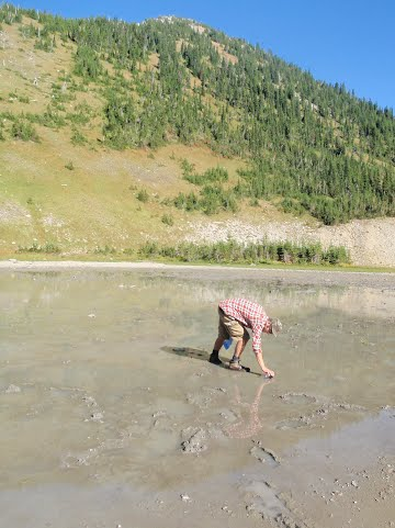 Backcountry camping? Make sure your water source isn't dried up