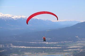Paragliding Invermere British Columbia Canada