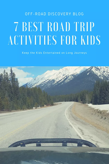 7 Best Road Trip Activities for Kids