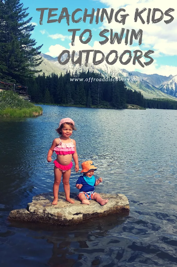 Tips for teaching kids to swim outdoors and feel comfortable around water