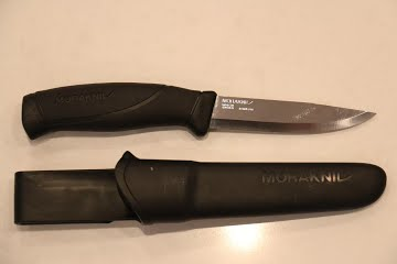 Morakniv makes for a great camping knife and whittling tool