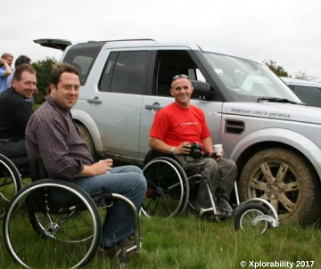 Land Rover Experience for Help for Heros Adventure Day