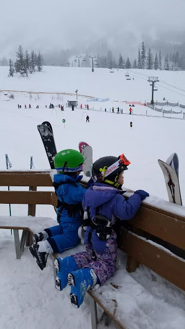 Skiing with Kids Under 5 - Tips, Gear and Getting Out