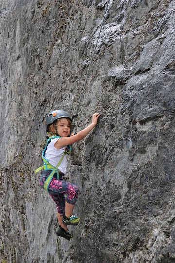 Sport Climbing with Children