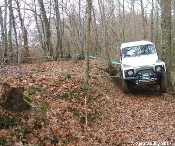 Land Rover Defender - Winch & Recovery Training