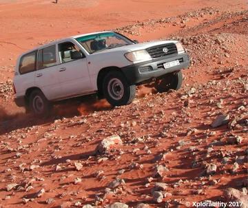 Toyota Sahara Desert, South Algeria