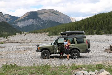 Land Rover Discovery ii and Family Overlanding Adventures