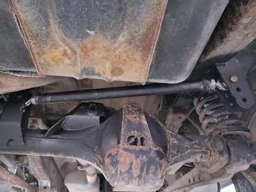 Panhard Rod / Track Bar Kit Conversion from Watts Linkage on a Land Rover Discovery