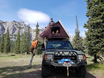 iKamper, the easiest roof top tent to set up