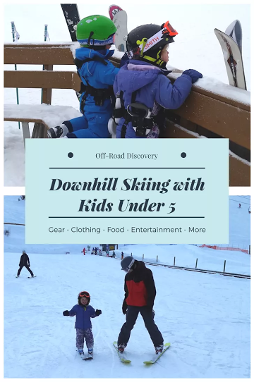 Tips for Downhill Skiing with Kids under 5