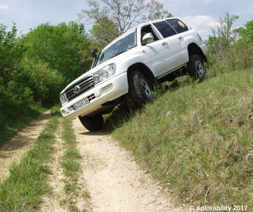 Do not get your tires into this position off-roading, high possibility of rollover