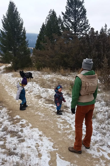 Realities of hiking with kids
