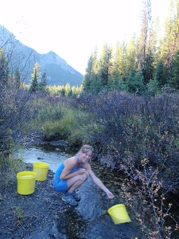 Backcountry Water Gathering