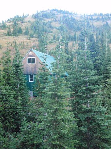Thunder Meadows Hut, British Columbia, Canada