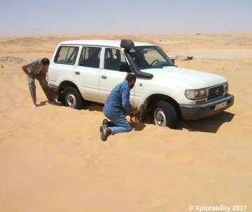 Avoid the 'Digging Club' while driving in sand, read tips and techniques.
