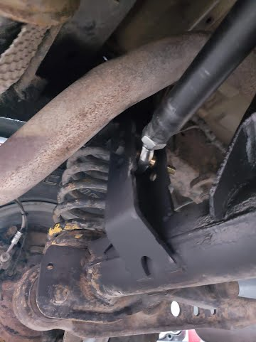 Land Rover Panhard Rod Conversion from Watts Linkage